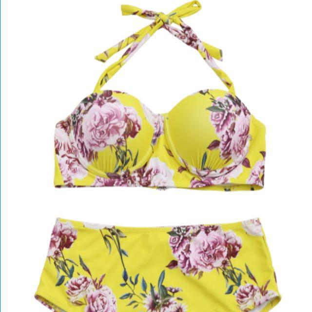 New Padded High Waisted Bikini