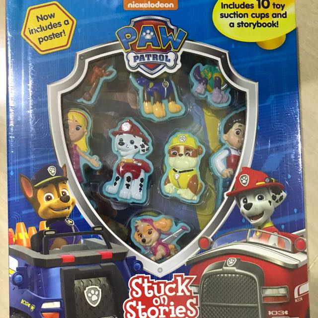 NEW Paw Patrol Stuck On Stories