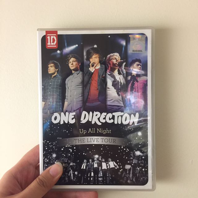 One Direction Up All Night DVD