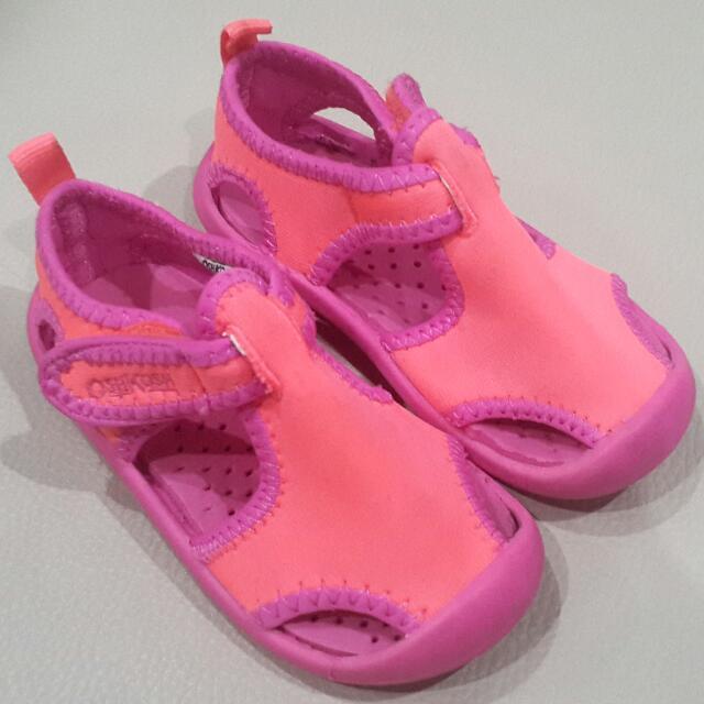 OshKosh B'Gosh Aquatic Girl's Water Shoes - Toddler 13cm / US 6 / EUR 22