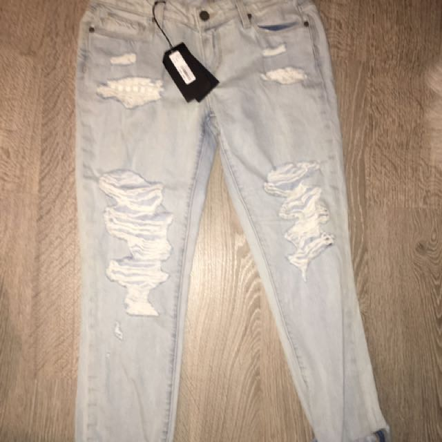 Paige ripped Boyfriend Jeans 26