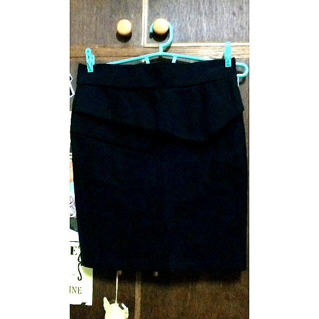 Pencil Cut Skirt.