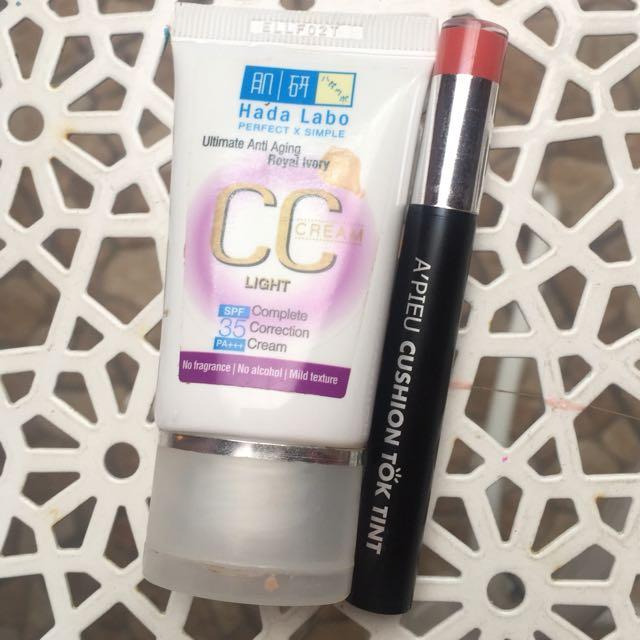 [PL] Paket Hada labo CC Cream & A'pieu Tint