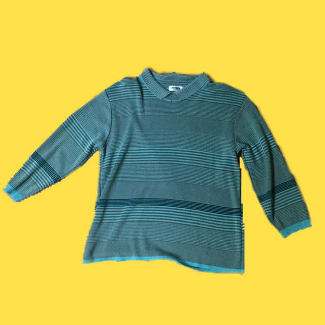 Polo Striped Half Sleeved Top