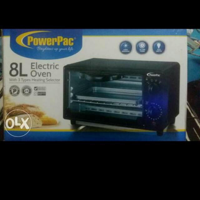 Powerpac Electric Oven