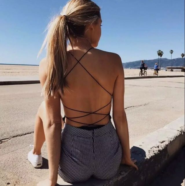 Pre Order Open Back Bodysuit