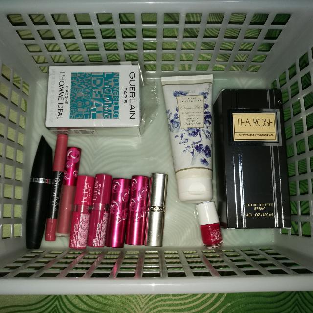 Sale! Preloved Perfumes, Makeups, Lotions, Nail Polish Bundle