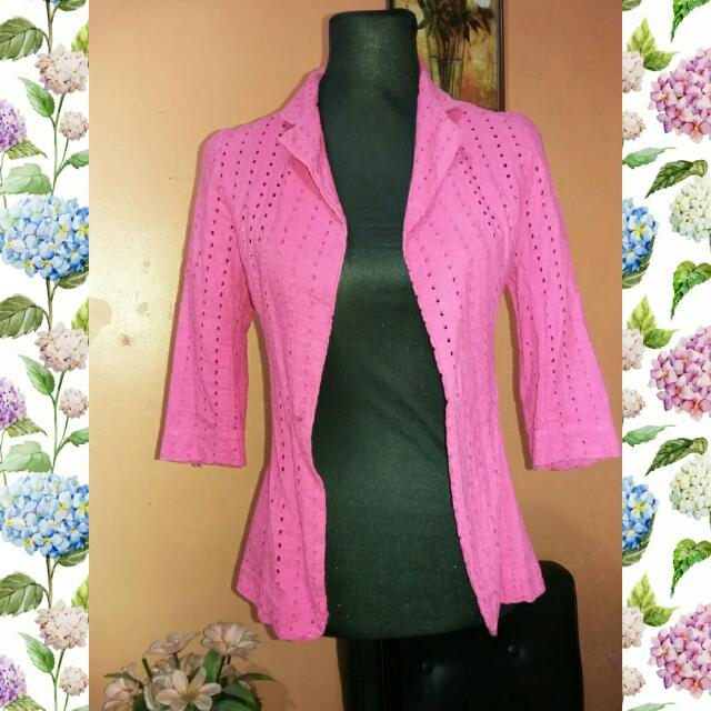 ⭐SALE⭐Preloved Pink Office Suit