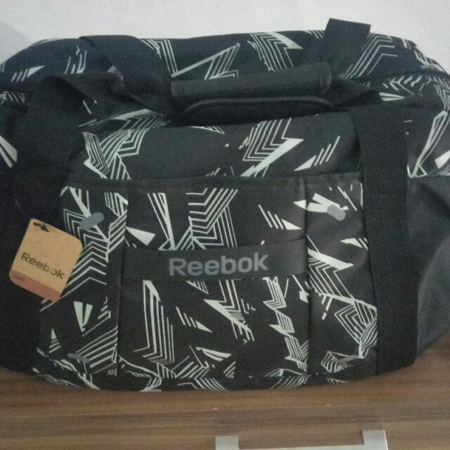 REEBOK GYM BAG black original/nego