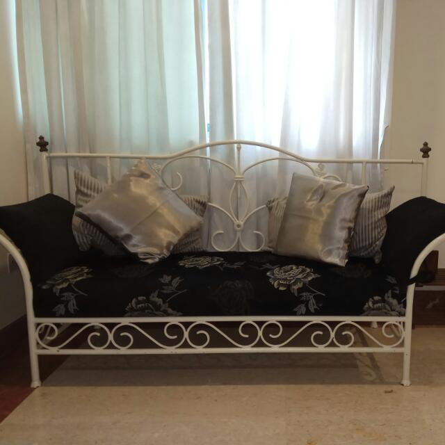 Wrought Iron Sofa Day Bed Furniture