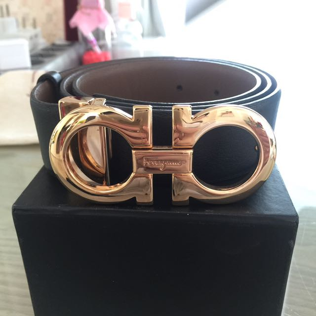 Salvatore Ferragamo Reversible Belt 100% ORI