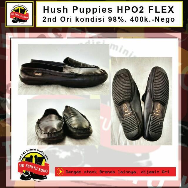 Sepatu Slip On Hush Puppies