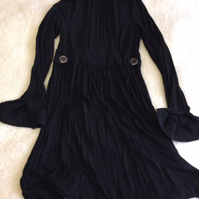 Seventy Black Longsleeve Dress