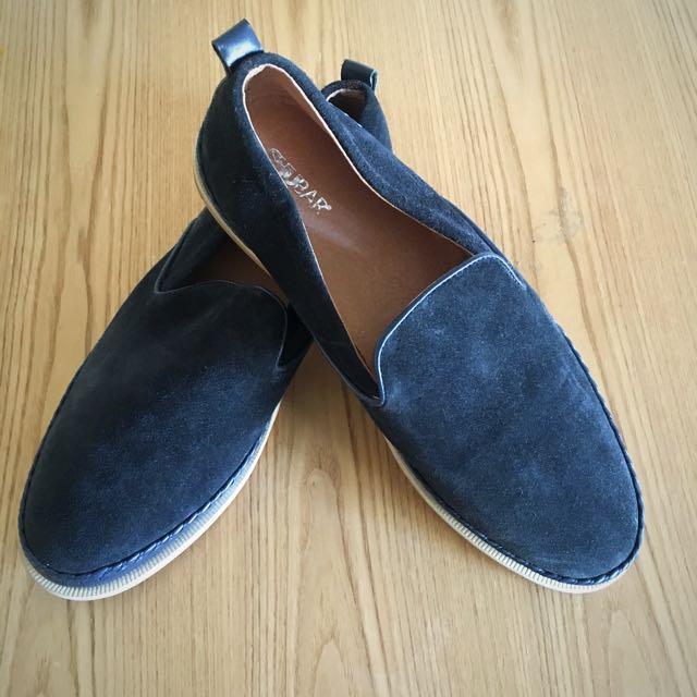 Shubar Men's Slip On 100 % Suede Upper Size 42 | US 9
