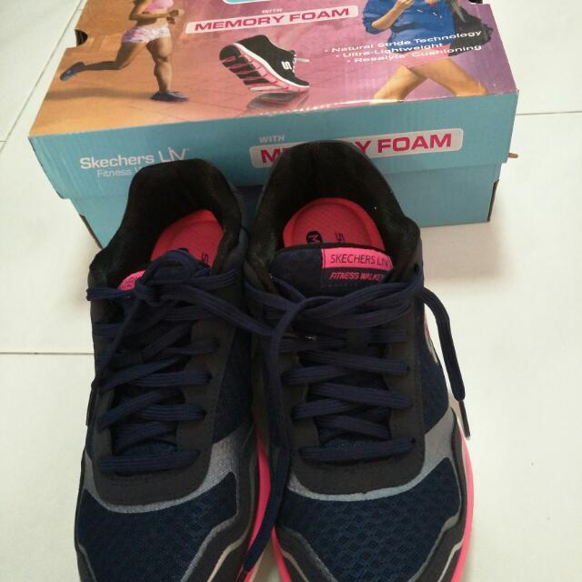 Skechers Liv fitness walker, Women's Fashion, Shoes