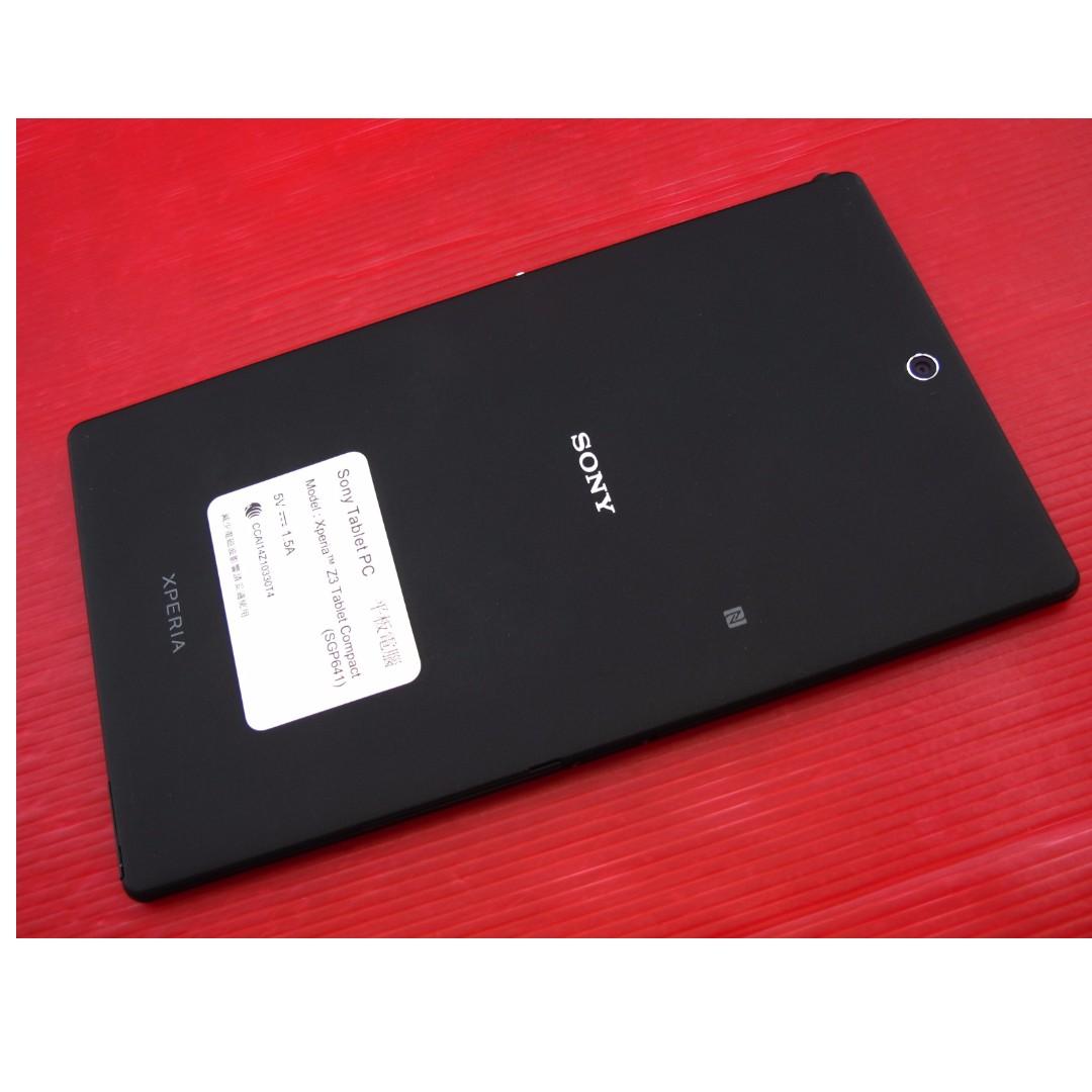 ※Sony Xperia Z3 Tablet Compact LTE 保存好機況新 原廠盒裝 ※換機優先