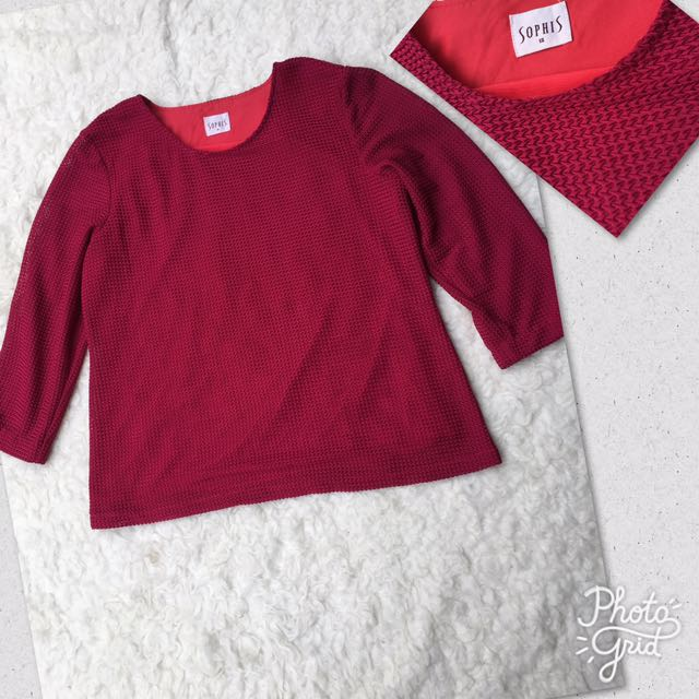 Sophis Knit Marron Top