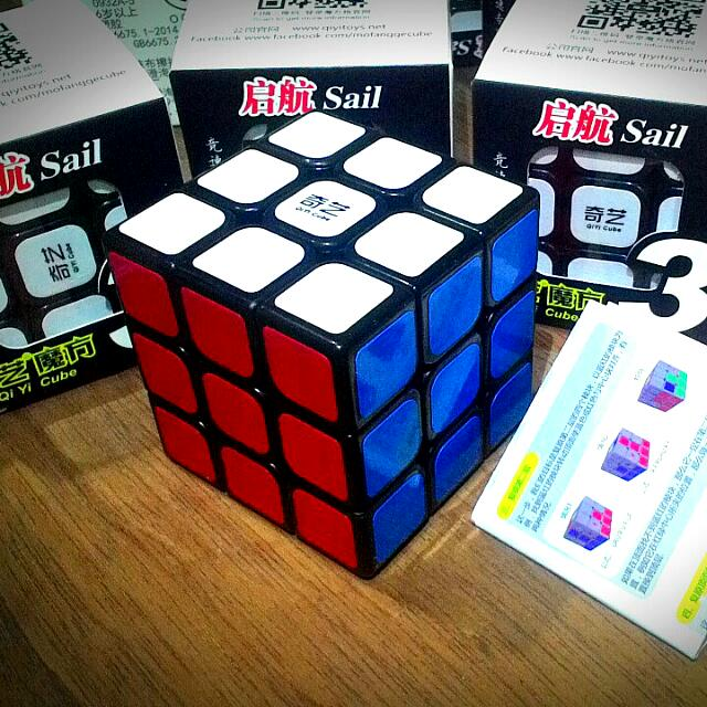 Speed Cube - Qi Yi Sail 3x3x3 Rubik's Cube