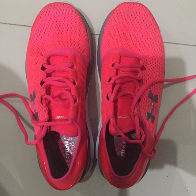 SPEEDFORM PINK SHOES ORI