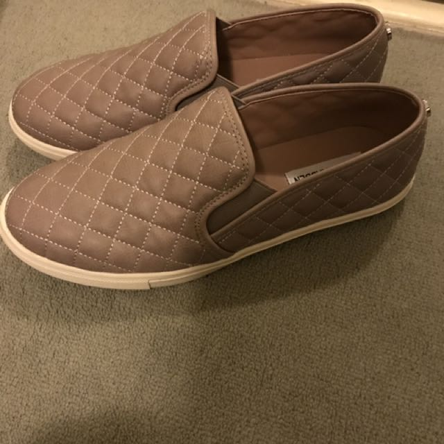 Steve Madden Quilted Leather Shoes