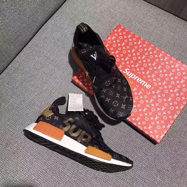 buy popular 46074 45586 Supreme X Louis vuitton Adidas NMD, Luxury, Accessories on ...