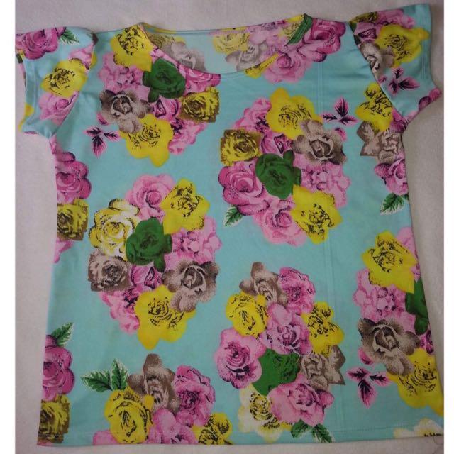 Sweet Floral Top