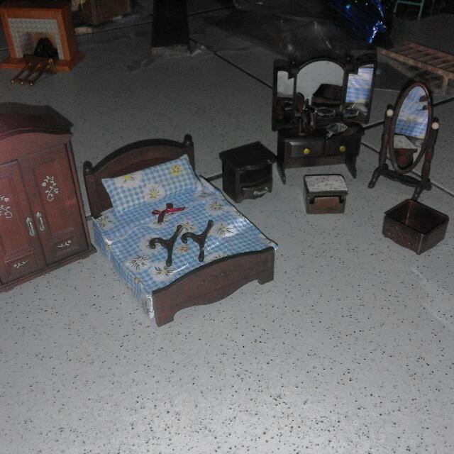 Sylvanian Families Master's Bedroom Set