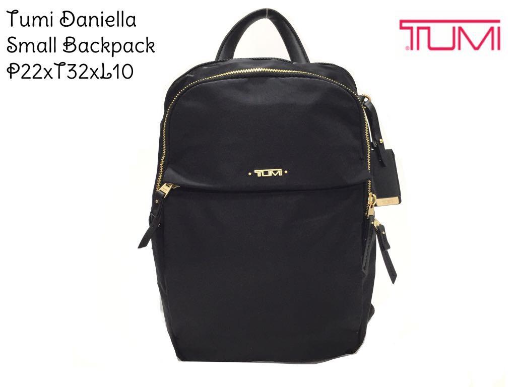 Tas Tumi Original  Daniella Backpack - Maroon
