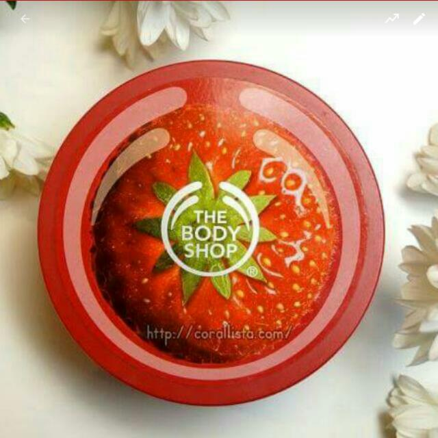 The Body Shop Strawberry Butter