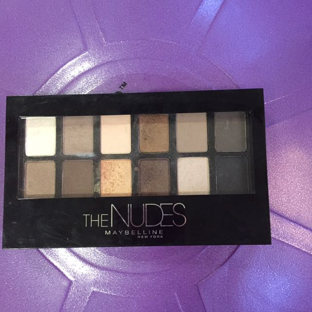 The Nudes Maybelline Eye Shadow