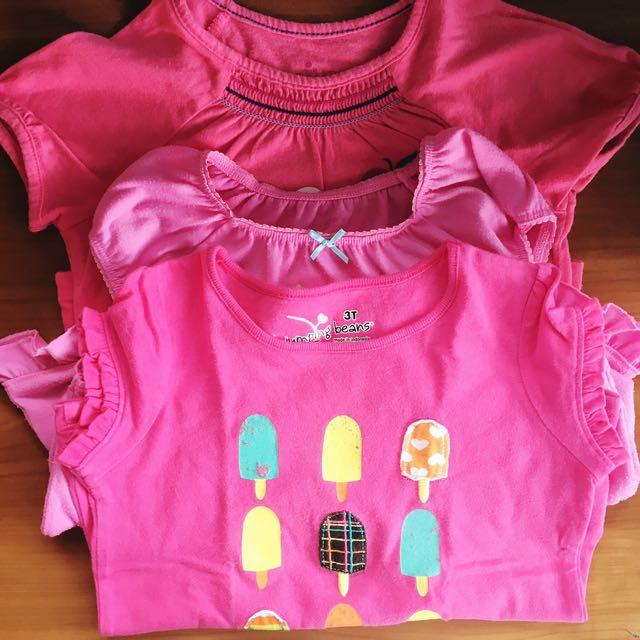 Toddler Girl Shirt Bundle