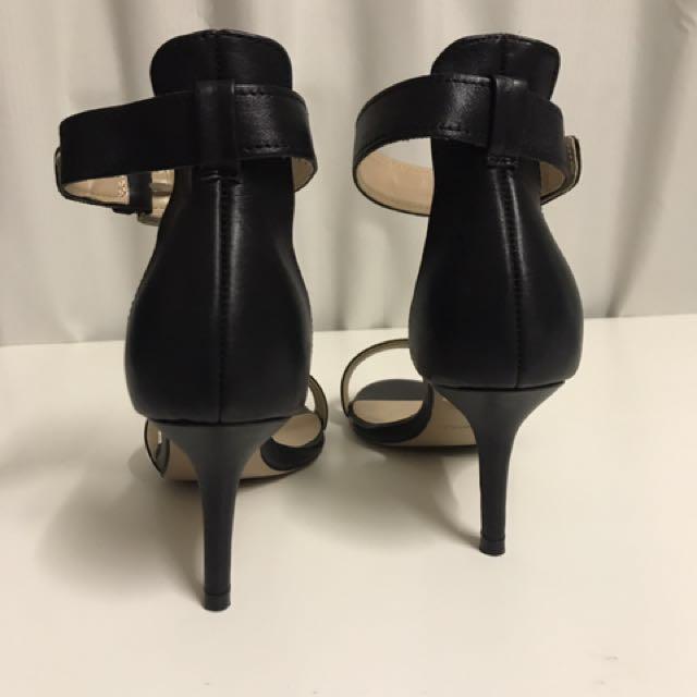 Tony Bianco Black Heels