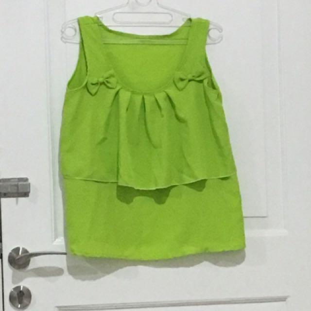 U can see hijau