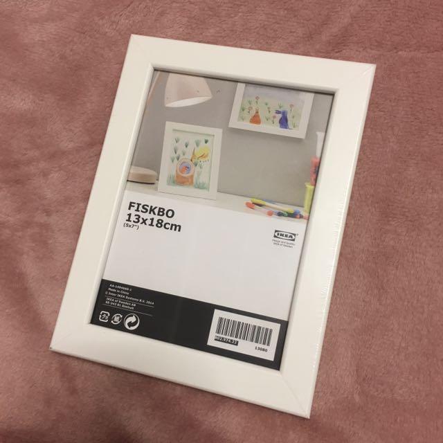 White IKEA Frames