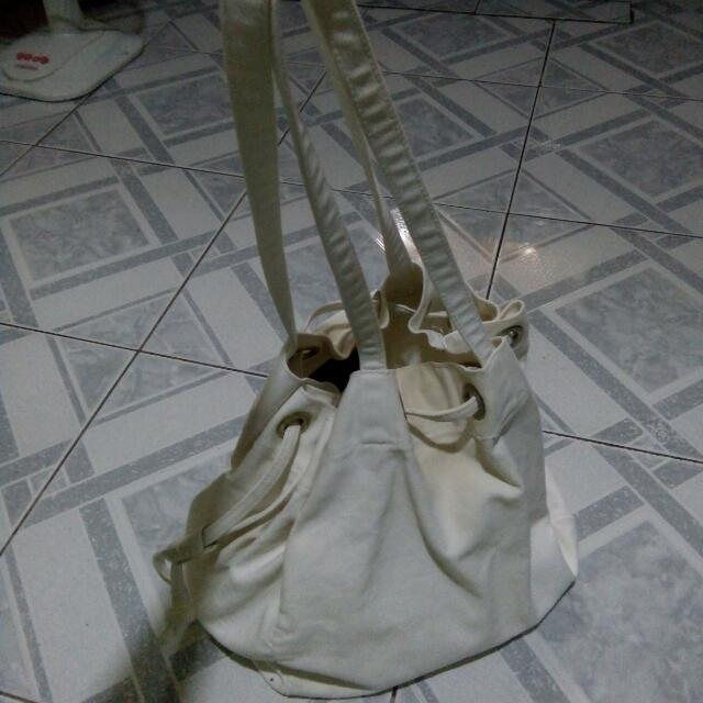 White Katsa Bag