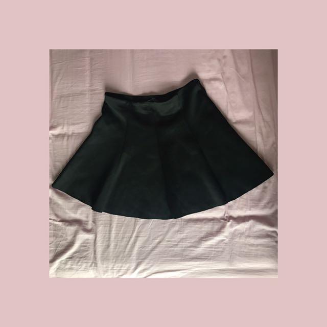 Zara Black Stretch Skirt