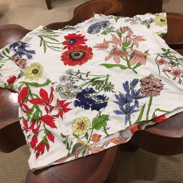 Zara Flower Print Tee