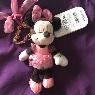日本迪士尼購入 米妮手機吊飾