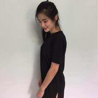 READY STOCK 2in1 Dress/Long Top