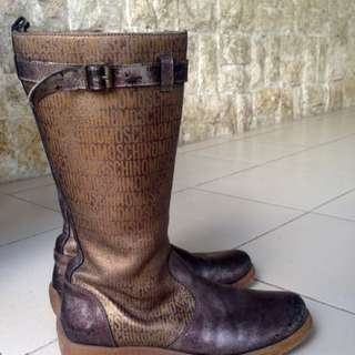 Authentic Moschino Boots