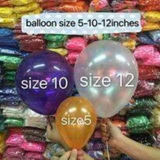 Metallic Colored Balloons