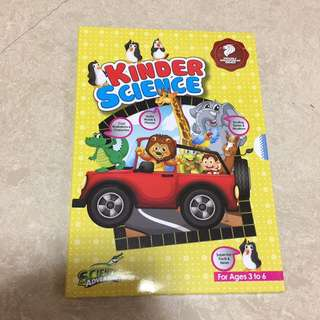 Science Adventures Kinder Science 6 Issues Box