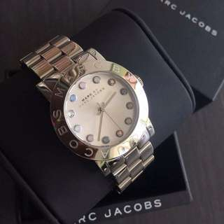 MARC Jacobs Amy Dexter Silver Watch
