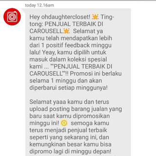 Best Seller of The Week-29 ❤ Thank you Carousell🙏 #trustedseller