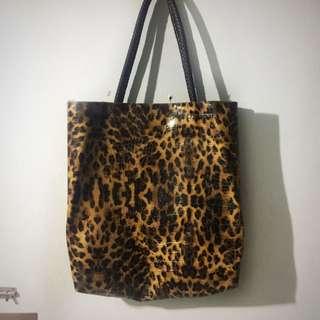 CMG Animal Print Bag