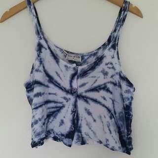 Size M Tie Dye Top