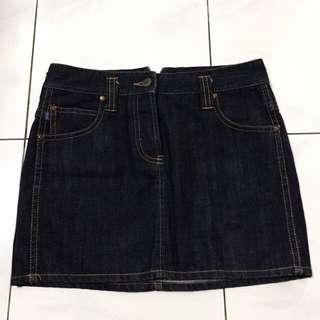 FCUK Jeans Denim Skirt