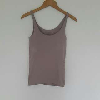 Cupped dusty Pink Singlet