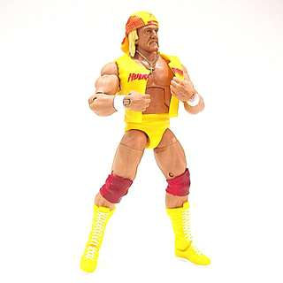 (RESERVED) WWE Mattel Elite Classic 'The Immortal' Hulk Hogan Loose Figure