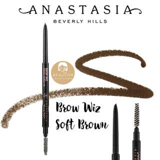 NEW AUTHENTIC INSTOCK Anastasia Beverly Hills Brow Wiz Soft Brown Eyebrow Pencil